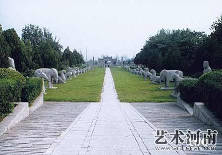 潞简王墓   神道