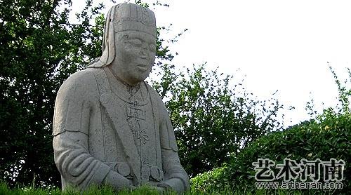 潞简王墓石刻   太监