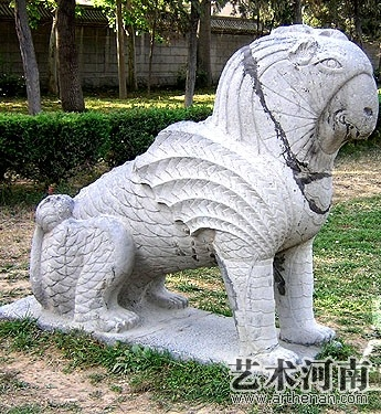 潞简王墓石刻   爰居